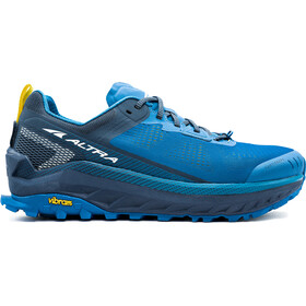 Altra Olympus 4 Running Shoes Men blue/yellow